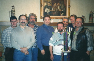 Mike Prailes, Art Peterson, Phil Bourdo, Merlin Johnson, Kelly Skiles, Dave Rex, Kirk Wagner