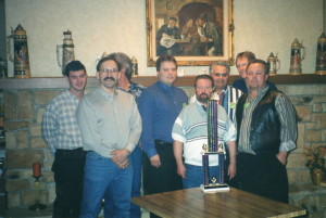Brad Durbin, Mike Prailes, Art Peterson, Phil Bourdo, Merlin Johnson, Kelly Skiles, Dave Rex, Kirk Wagner