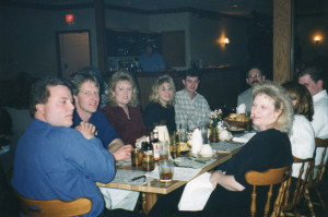 Phil Bourdo, Dave Rex, Kathy Rex, Heddie Durbin, Brad Durbin, Mike Prailes, Kim Bourdo