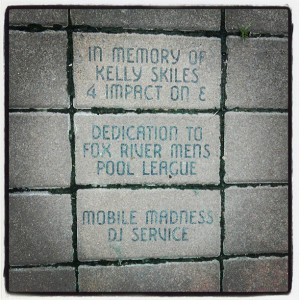 Kelly Skiles Brick In Memoriam